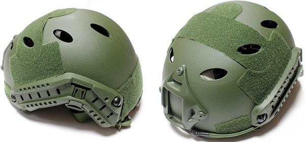 Nuprol FAST Railed Helmet - OD