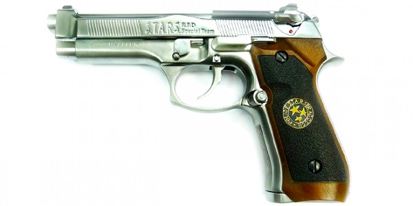 WE M92 Biohazard Silver