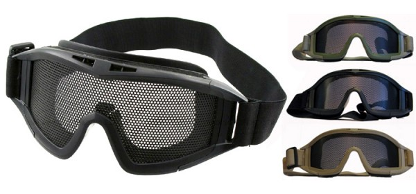 ACM Mesh Goggles Black
