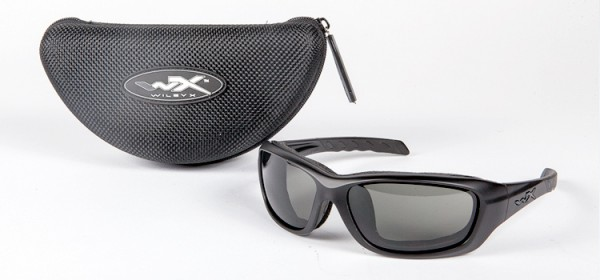 Wiley X Glasses - Black Ops - Matte Black / Grey
