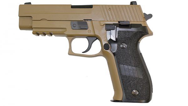 WE P226 MK25 GBB Pistol (Tan)