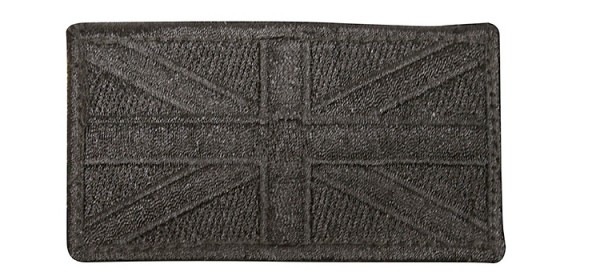 Viper Union Jack Patch (x2) Black