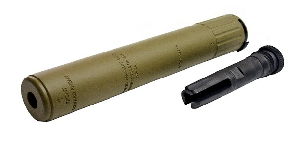 Magpul PTS AAC SPR/M4 Silencer Deluxe CCW DE