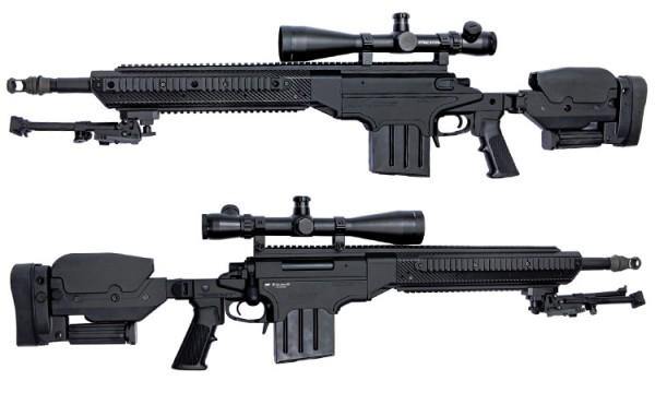 ASG ASW338LM Ashbury Sniper Rifle - Black