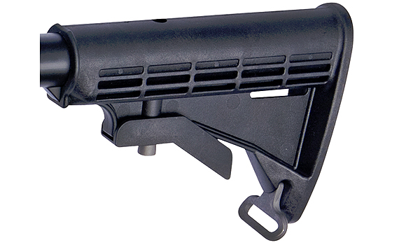 ASG Retractable stock for M4 Series Black