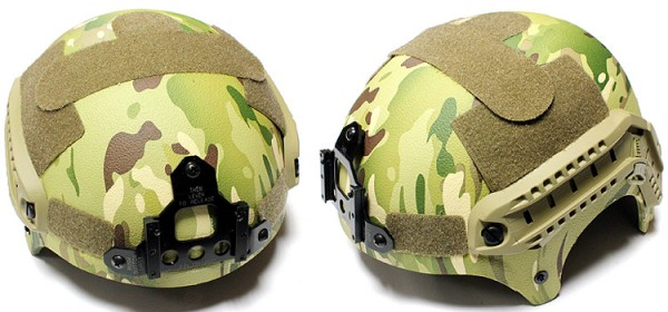 Nuprol IBH Railed Helmet - MC