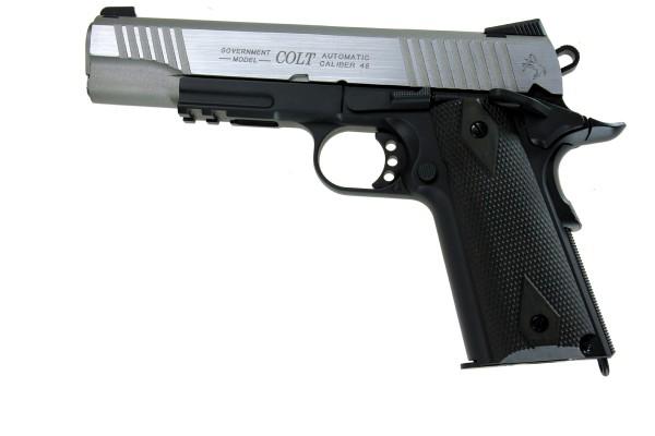 Cybergun Colt 1911 Rail Gun Dual Tone