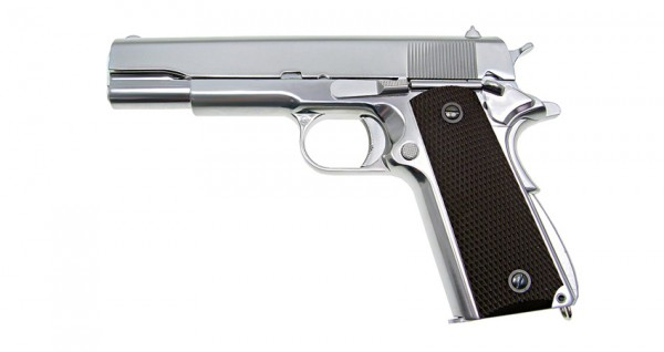 WE 1911 Silver Edition