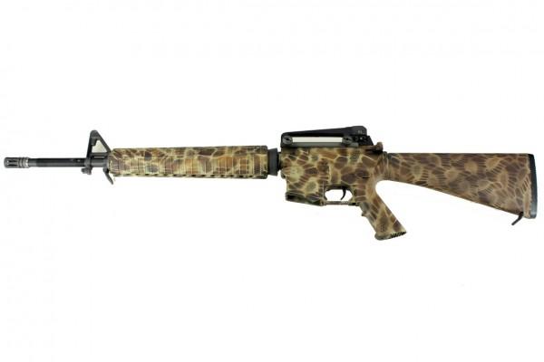 WE M16A3 Gen 2 - SnakeSkin Tan Custom