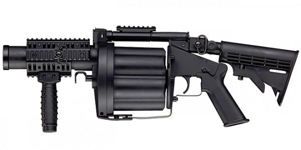 ICS MILKOR GLM Grenade Launcher Black