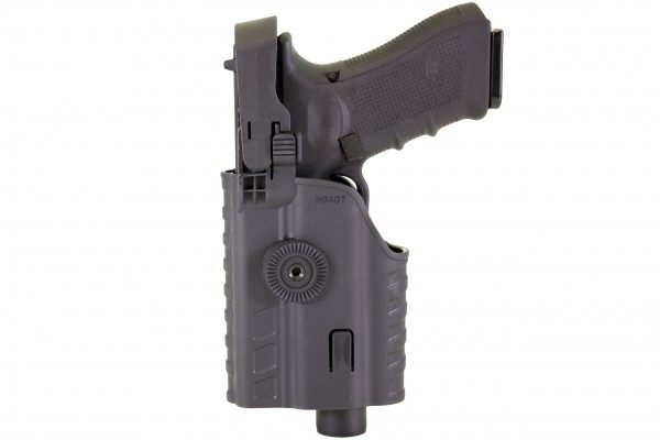 Nuprol EU Series Light Bearing Holster & Torch (BLACK)