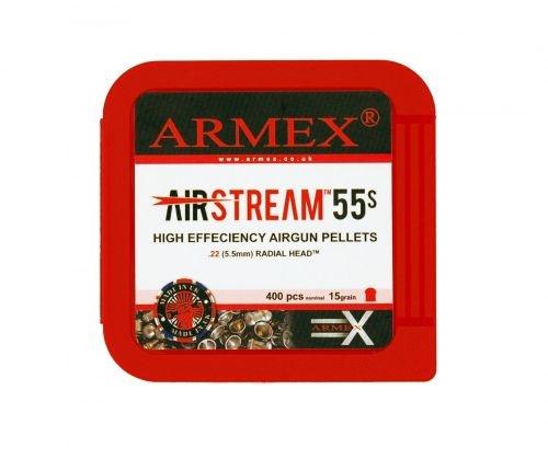 Armex Airstream 55's Standard .22 x 400