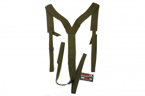 Nuprol PMC Low Profile Harness Black Green