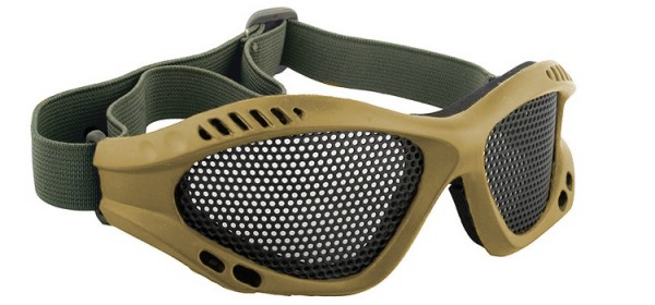 ACM mesh Glasses Tan
