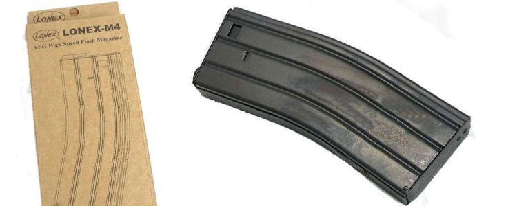 ASG / Lonex Flash Magazine for M16 360rd