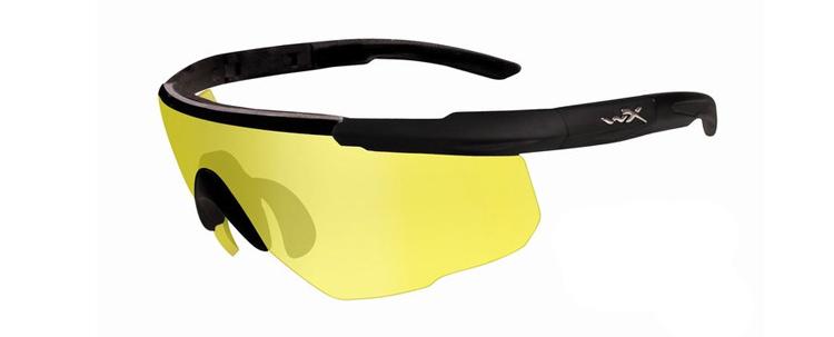 Wiley X Saber Advanced Shooting Glasses (Amber)