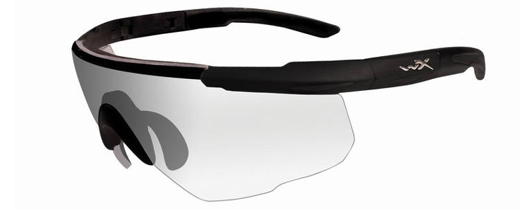 Wiley X Saber Advanced Shooting Glasses (Clear)
