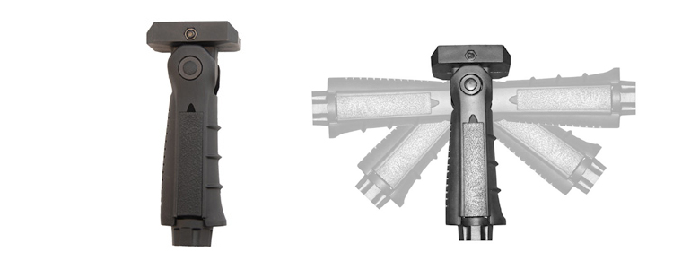 Multi-Position Folding Vertical Grip
