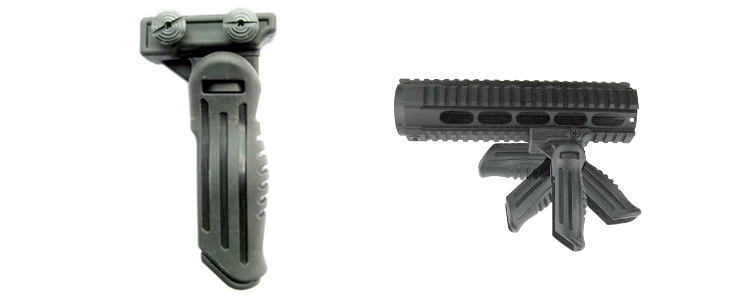 Vertical Folding Grip