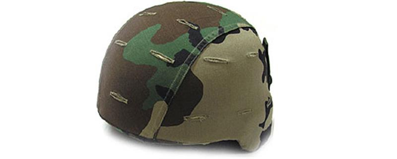 GG Woodland Helmet Cover
