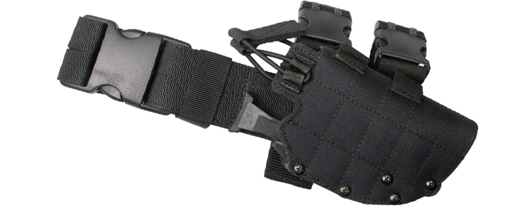 Strike Leg Holster Quick Release for Various Models Black