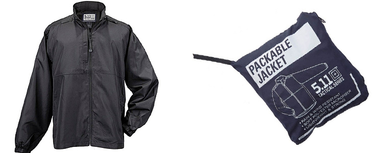 5.11 Packable Jacket Black Small