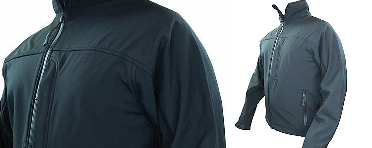 Highlander ODIN Softshell Jacket Black - XL