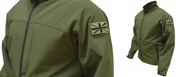 Highlander ODIN Softshell Jacket Olive 2XL