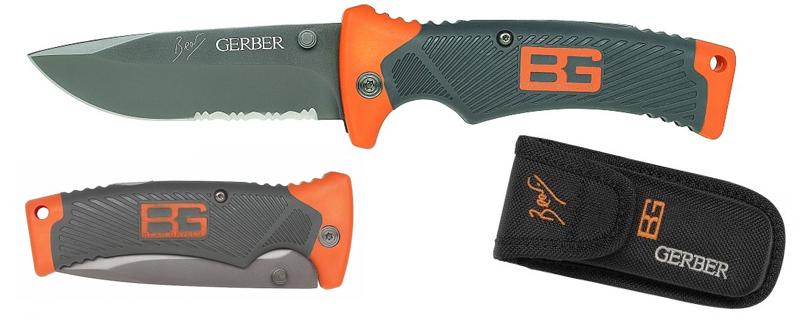 Gerber Bear Grylls Ultimate Folding Sheath Knife