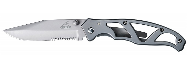Gerber Paraframe II SS Folding Knife (Large/Serrated Edge)