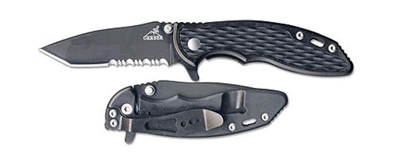 Gerber CN Torch I Tanto in Black with Serrated Blade