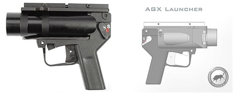 MadBull AGX Pistol BB Launcher (Light Weight)