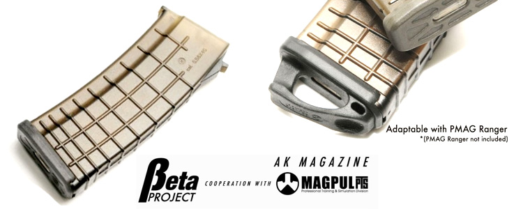 Beta Project AK Tactical 140rd AK Series Magazine Black