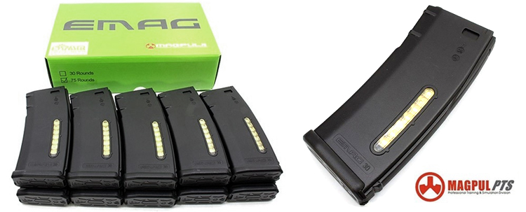Magpul 30rd PTS Green Label EMAG Box Set (10pcs)