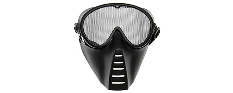 Strike Systems Black Medium Grid Mask