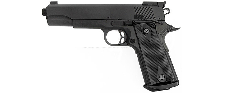KWC Colt 1911 National Match Black