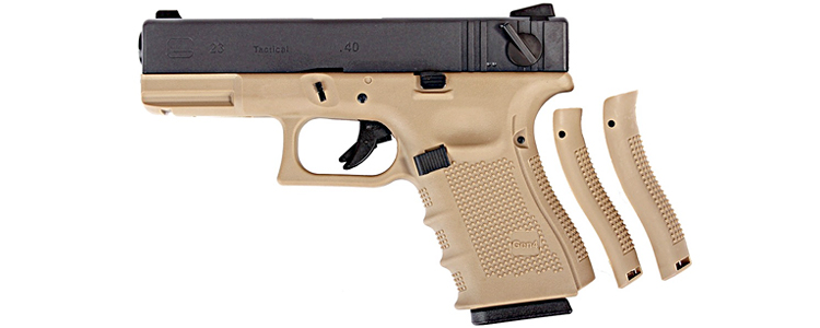 WE Glock 23 Gen4 Tan