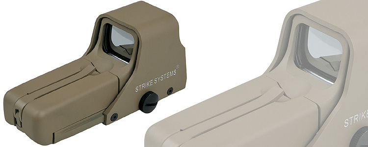 Strike Advanced 552 Holosight Tan red/green
