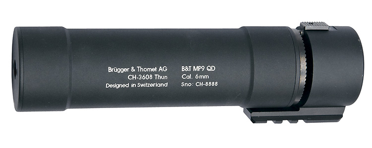 B&T QD Silencer for MP9 Series
