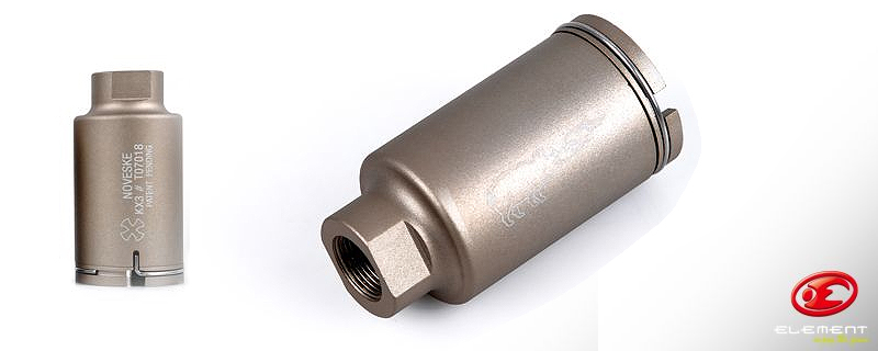 Element Noveski M4 Mini Silencer Tan
