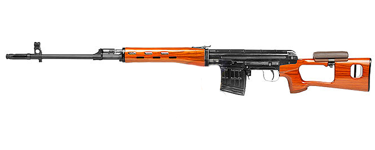 WE SVD Dragunov Open Bolt GBB Wood