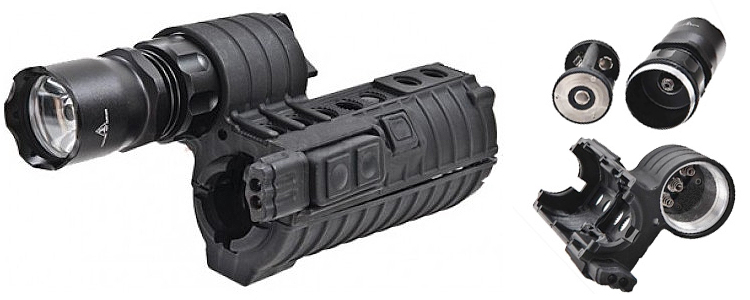Element eM500A Handguard Weapon Light for M4