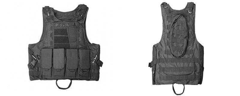 Target One Vest Black