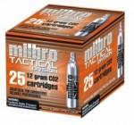 Milbro CO2 Cartridges (20pcs)