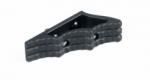 FX CNC M-LOK Angled Grip Black