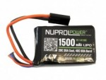 NP Power 7.4v 1500mAh PEQ Micro Lipo