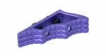 FX CNC M-LOK Angled Grip Purple